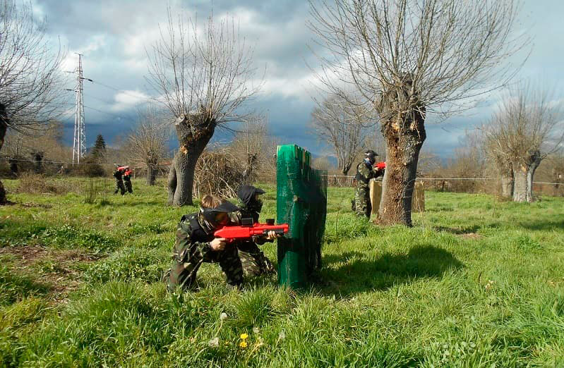 Paintball niños Madrid