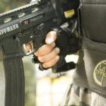 Detalle de las armas o marcadoras que usamos en Gran Paintball Madrid para demostrar que son únicas
