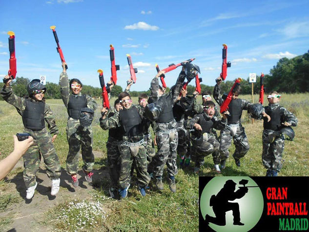 Paintball Infantil Madrid