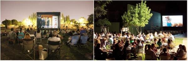 pantallas del cine de verano de madrid, un plan barato