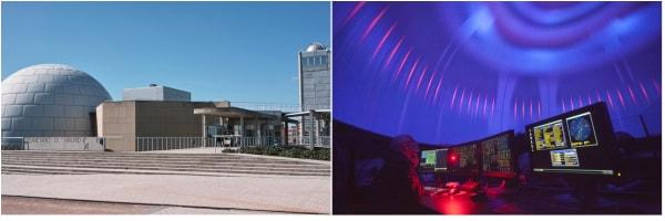 Fotos del planetario de Madrid en fin de semana