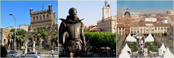 Alcalá de Henares, 3 fotos de lugares emblemáticos