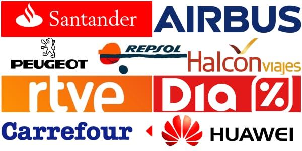 Empresas que han realizado dinámicas para grupos en Gran Paintball Madrid