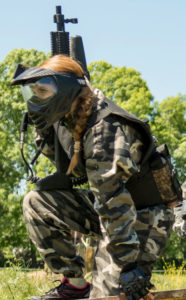 Mono Camuflaje Paintball