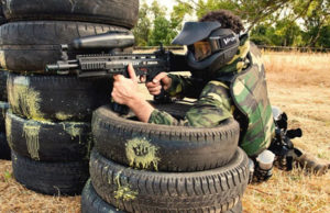 Peto Camuflaje Paintball